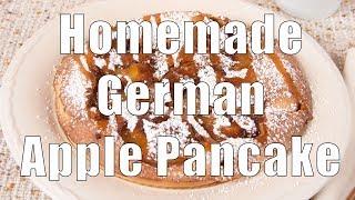 Homemade German Apple Pancake (hc-101) Dituro Production