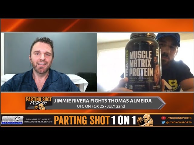 UFC on FOX 25's Jimmie Rivera talks Thomas Almeida & being the face of a Nutrabio Supplements