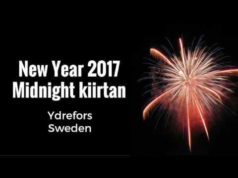 Midnight Kiirtan 1st January 2017 Ydrefors Sweden