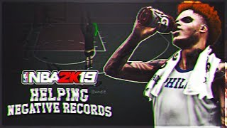 I Tried Helping Negative Records At The Park On NBA 2K19