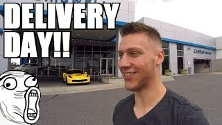 TAKING DELIVERY Of My 2016 CORVETTE Z06!!