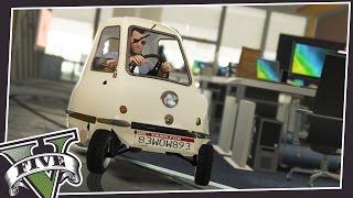 PEEL P50 INDOORS IN GTA 5! (As Seen On Top Gear)