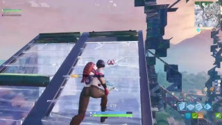 Fortnite live helping noobs get better at building