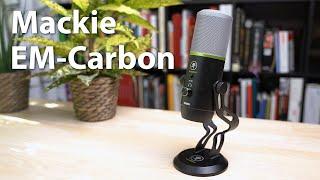 Mackie EM-Carbon im Test - Ein vielseitiges USB-Mikrofon mit 5 Richtcharakteristiken!