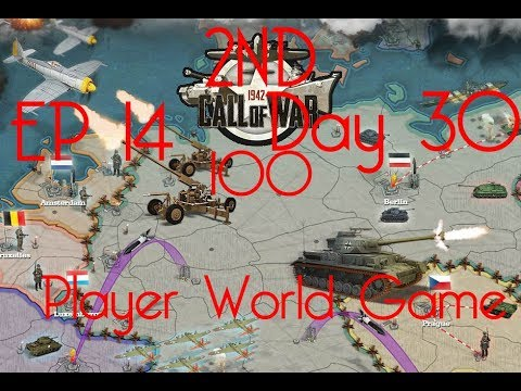 Call of War 1942 2ND 100 Player Fan Game, Day 30 EP14