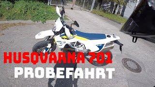 Husqvarna 701 PROBEFAHRT | Moji