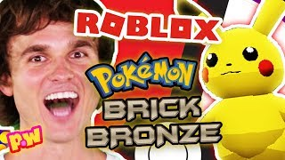 LET'S PLAY ROBLOX Pokemon Brick Bronze! Roblox Gameplay for Pokemon BrickBronze ~ pocket.watch