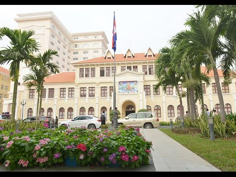 05 April 2016 – Samdech Techo Hun Sen inaugurates the Phnom Penh Municipality New Office Buildings