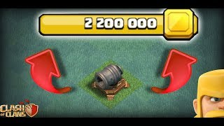 2.200.000$ DEV TOPU BASTIK !!! | Clash Of Clans