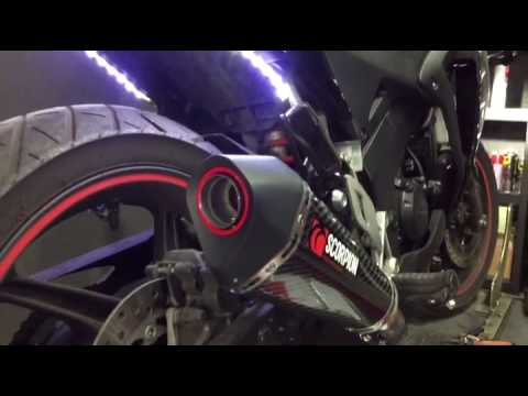 Scorpion RHA151CEO Motorcycle Exhaust