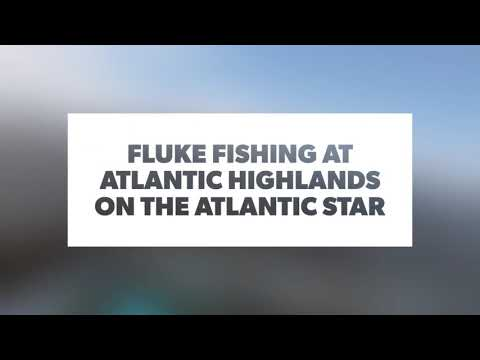 Fluke Fishing At Atlantic Highlands On The Atlantic Star