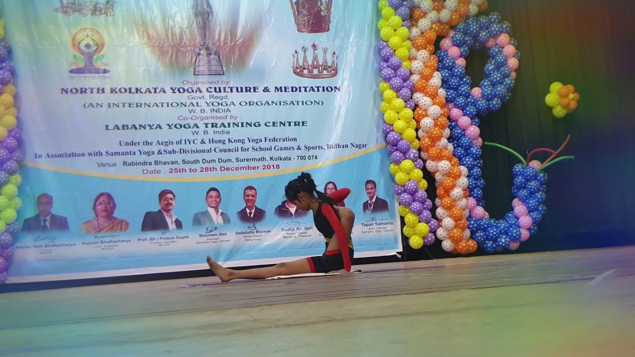 5th Open National Yoga Sports Championship 2018 An International Yoga Meet Youtube
