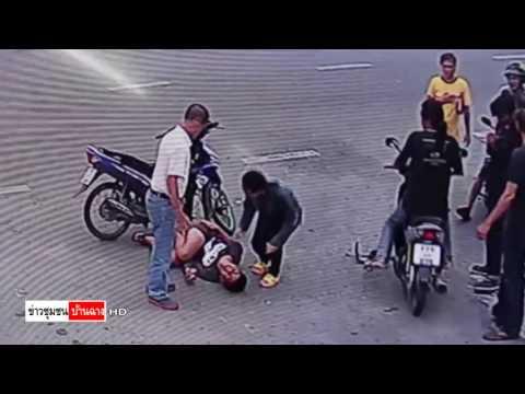 เผยวินาที จยย.พุงชน คาริเบียนพยายามข้ามแยกจุดกลับรถเจ็บ1