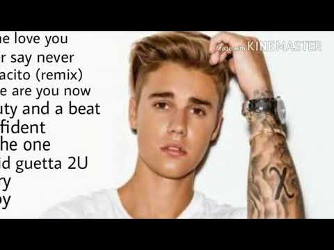 Justin beiber all love songs / indian jukebox /