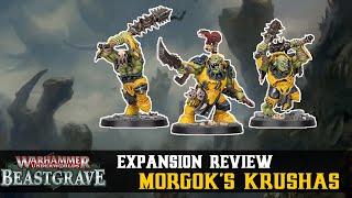 Morgok's Krushas Warband Review! | Warhammer Underworlds: Beastgrave