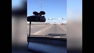 Антирадар IBOX PRO 100 GPS против камеры АВТОДОРИЯ (Москва, Новорязанское шоссе)