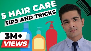 5 Hair Care Tips that EVERY INDIAN GUY MUST KNOW! Men