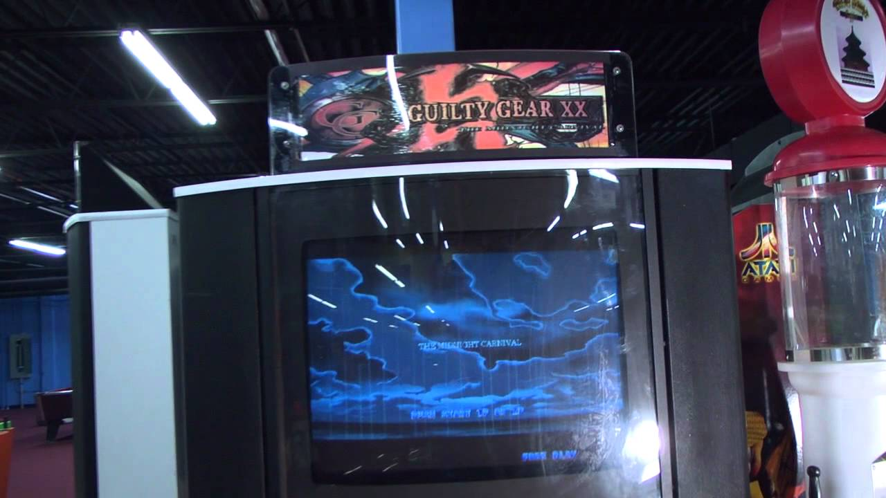 Guilty Gear XX - Video Arcade Fighting - PrimeTime Amusements ...