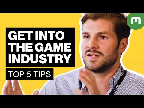 How to Get Into the Games Industry - A Recruiter's Top 5 Tip