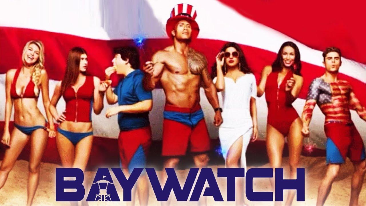 Priyanka Chopra's BAYWATCH Poster With Dwayne Johnson Out