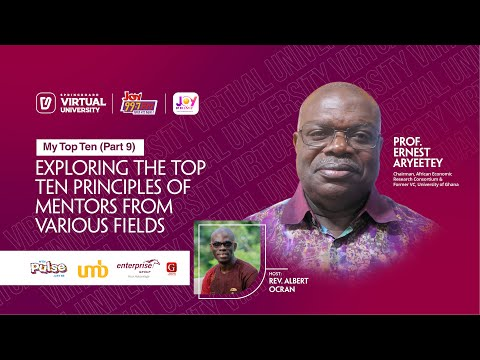 My Top Ten Episode 9 with Prof. Ernest Aryeetey, Former Vice Chancellor, University of Ghana, Legon