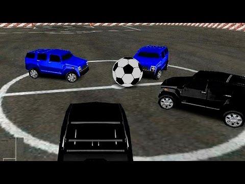 Футбол машинами Флеш игра (Футбол игра) Развивающая игра для детей 3 де игра на слабых компах