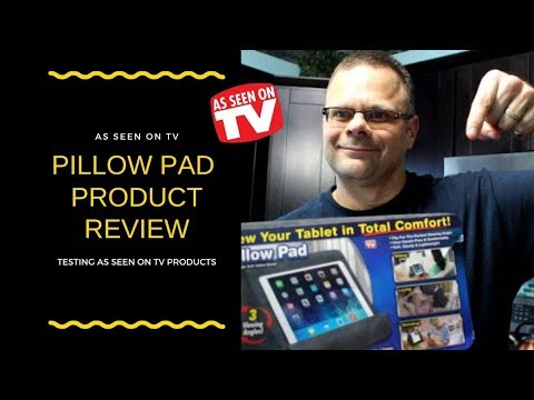 as seen on tv pillow pad tablet holder