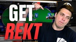 GET REKT! (Day 30, Bankroll Challenge)