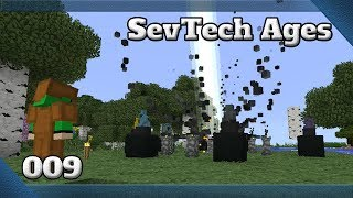 Minecraft 1.12.2 SevTech Ages Ep09 - The Beneath + Water Wheel