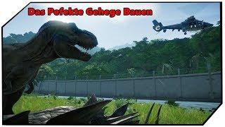 Jurassic World Evolution Das Perfekte Gehege Bauen Guide Tutorial German Deutsch