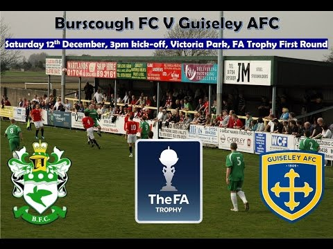 Burscough V Guiseley AFC Highlights 12 12 15 Fa Trophy
