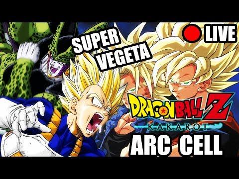 🔴DBZ KAKAROT - SUPER VEGETA vs CELL !