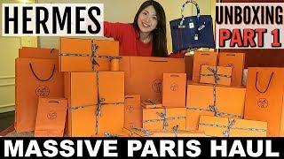 MASSIVE PARIS HAUL | HERMES UNBOXING | PART 1| CHARIS IN PARIS ????