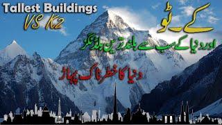 Tallest Buildings VS K 2 Second Highest Peak in the world