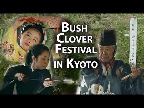 Kyoto Festival: Cultural Performances at Nashinoki Shrine (Hagi Matsuri)