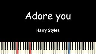Harry Styles - Adore You(Piano Cover) видео