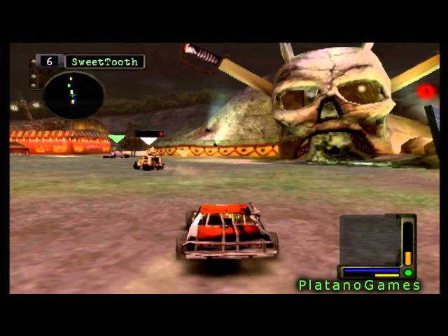 Twisted Metal Black 2 - Lost Sequel - Carnival of Darkness - HD
