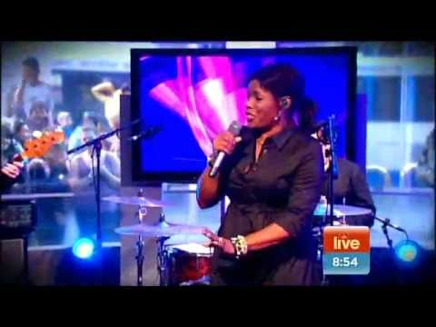 """Warren Trout Drums Performing with Marcia Hines """"I..."""