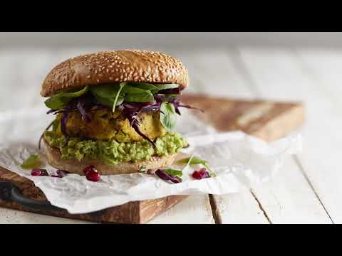 burger-de-dinde-rôtie-au-curcuma-et-basilic