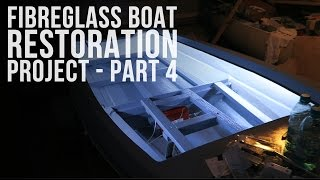 Fibreglass Boat Restoration Project - Part 4 - Finishing! Floor, Carpet, Fittings, and Electrics(, 2016-07-01T13:17:55.000Z)