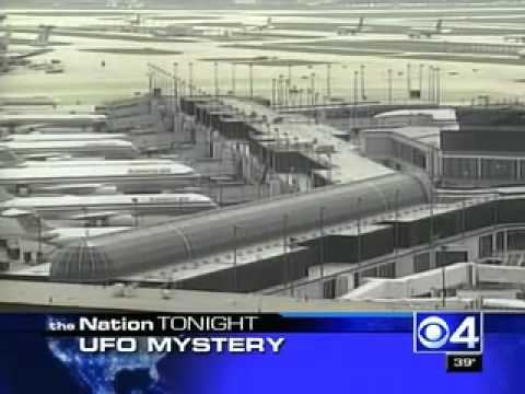 UFO Sighting over O'Hare Chicago Airport at Concourse C United Terminal.