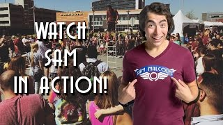 Sam Malcolm - Comedy and Juggling for Fairs and Festivals!