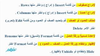 مراجعة عامة - حاسب آلي - للصف الثاني الإعدادي - ترم تاني - موقع نفهم - موقع نفهم