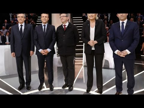 """""""Le Grand Débat"""" : Macron et Mélenchon ont échangé leurs numéros de téléphone"""