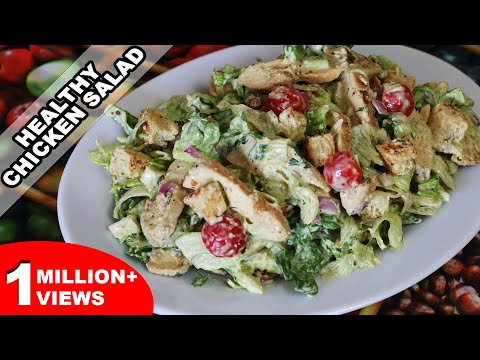 Easy Chicken Salad Recipe | Quick and Healthy Home-made Recipe | Kanak's Kitchen [HD]