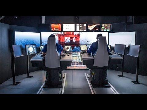 Offshore vessel simulator, K-Sim