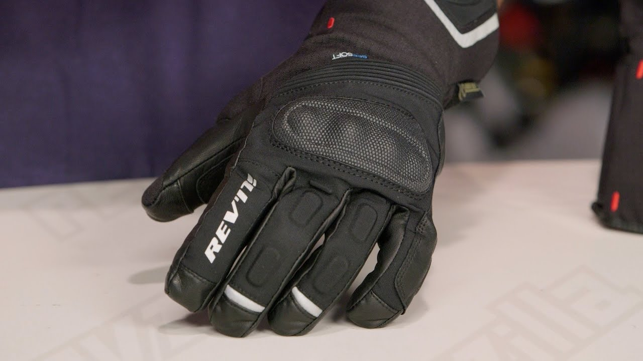 REV'IT! Taurus GTX Gloves Review at RevZilla.com - YouTube