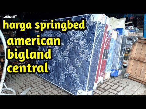 harga kasur springbed !! springbed american !! springbed bigland !! springbed central || Rian mebel