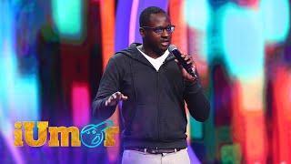 Mukinka Chibanga, primul stand up comedy în limba engleză de la iUmor
