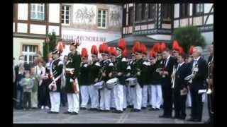 Platzkonzert der Bürger- und Junggesellen-Schützen 2008